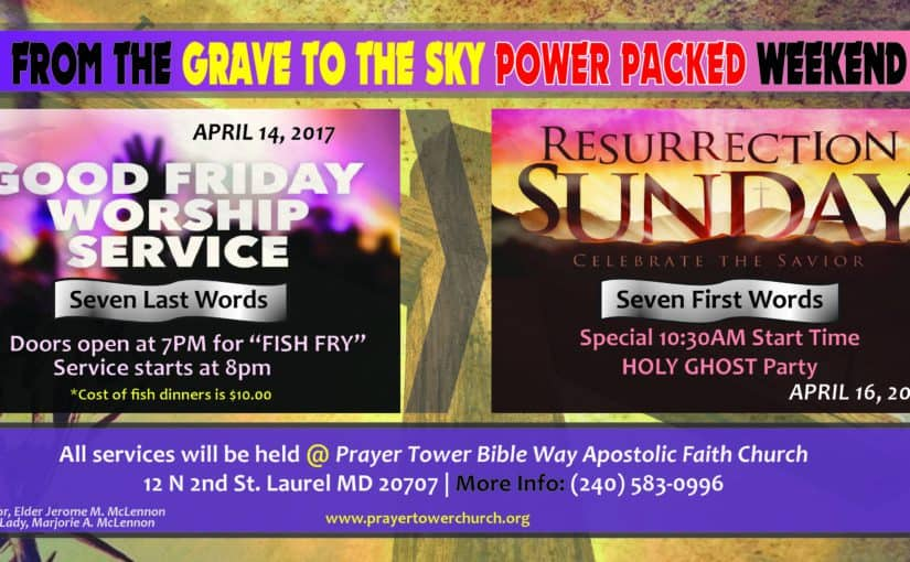 Fish Fry and Good Friday Night Service