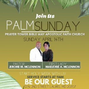 Palm Sunday Celebration