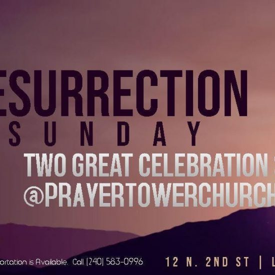 Resurrection Sunday: Two Great Services