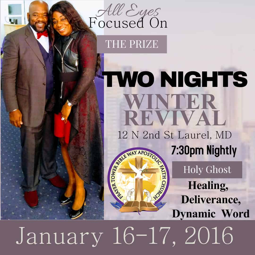 2020 Winter Two Nights Revival