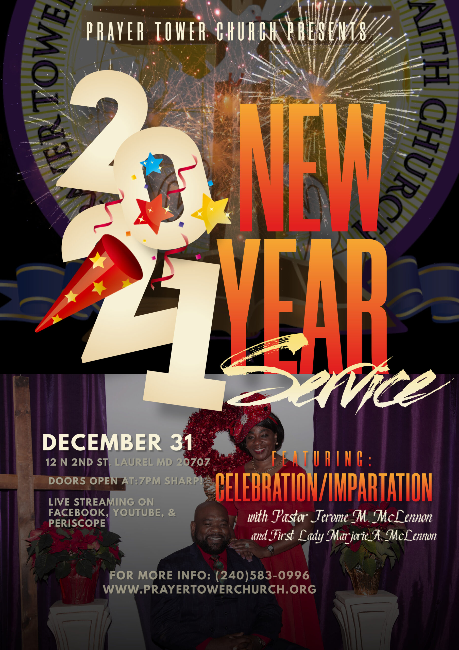New Years Eve Celebration Service