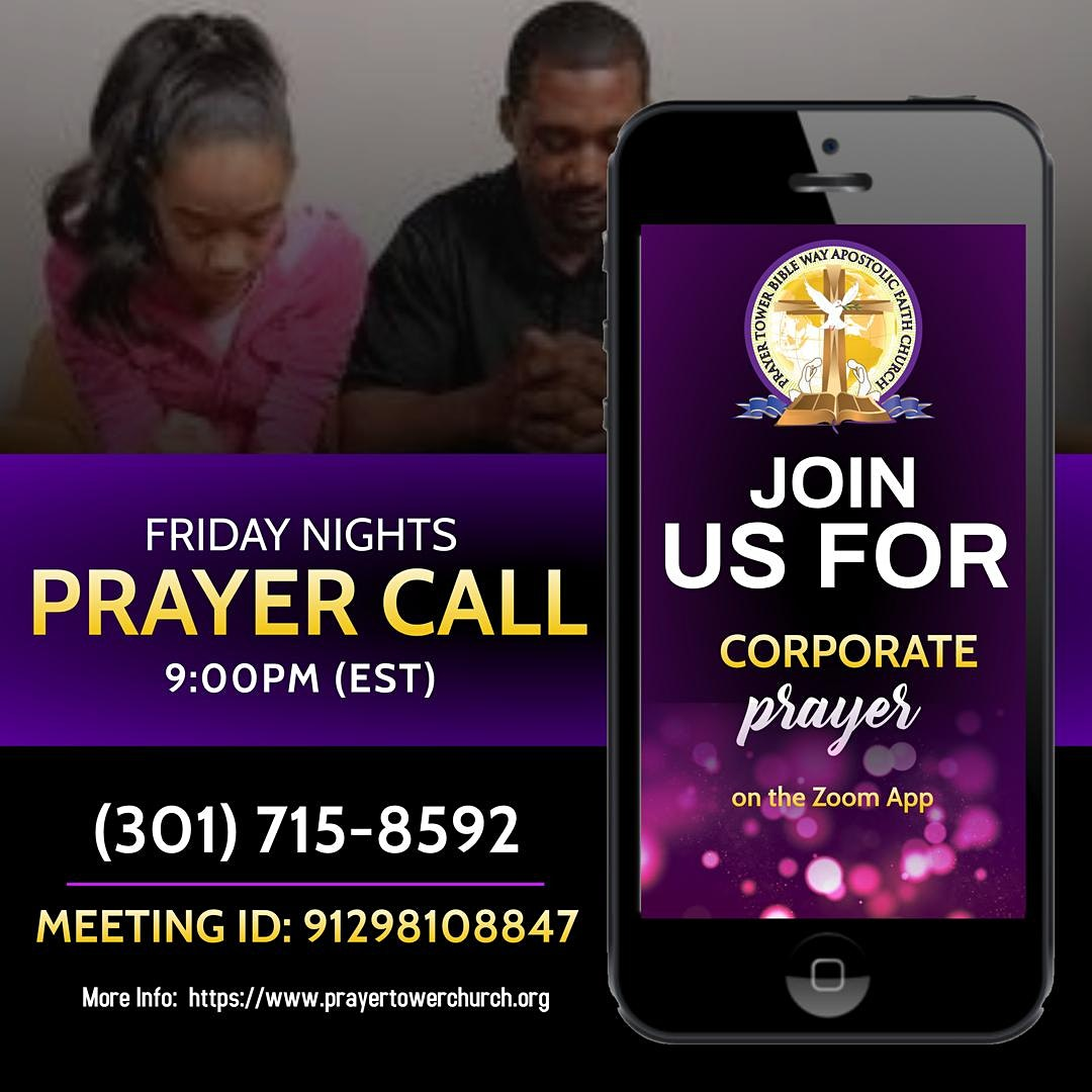 Online Intercessory Prayer Call  | Laurel, MD